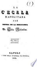 La Cecala napolitana  zo   Defesa de la Mezacanna   poem