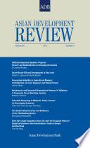 Asian Development Review