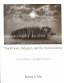 Worldviews  Religion  and the Environment