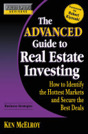 Rich Dad s Advisors  The Advanced Guide to Real Estate Investing