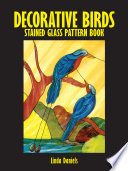 Decorative Birds Stained Glass Pattern Book