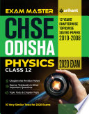 Exam Master Chse Odisha Physics Class 12 2019 2020