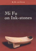 Mi Fu on Ink Stones