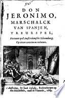 Don Jeronimo Marschalck Van Spanjen