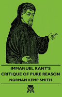 Immanuel Kant s Critique of Pure Reason
