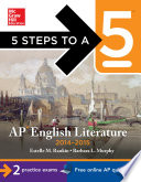 5 Steps to a 5 AP English Literature  2014 2015 Edition
