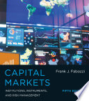Capital Markets : wide range of instruments available in financial markets,...
