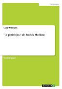Le Petit Bijou de Patrick Modiano