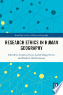 Research Ethics In Human Geography