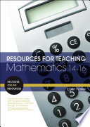 Resources for Teaching Mathematics  14 16