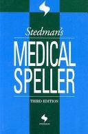 Stedman s Medical Speller