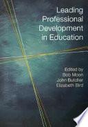 Leading Professional Development in Education