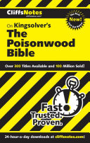 download ebook cliffsnotes on kingsolver\'s the poisonwood bible pdf epub