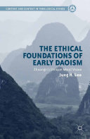 download ebook the ethical foundations of early daoism pdf epub