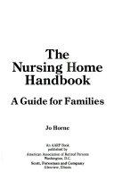 The nursing home handbook