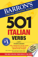 501 Italian Verbs  4th edition