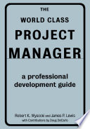 The World Class Project Manager