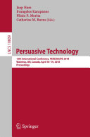 Persuasive Technology Book