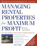 managing rental properties for maximum profit