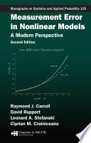 Measurement Error in Nonlinear Models