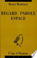 illustration du livre Regard, parole, espace