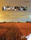Modern Livestock   Poultry Production