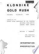 download ebook klondike gold rush national historical park, proposed (wa,ak) pdf epub