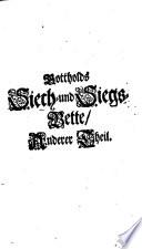 Siech- und Siegs-Bette