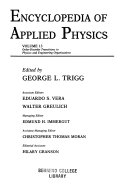 Encyclopedia of Applied Physics  Order Disorder Transitions to Physics and Engineering Organizations