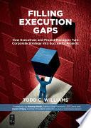 Filling Execution Gaps : principle, strategic cfo, former cfo...