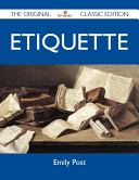 Etiquette - The Original Classic Edition