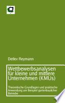 Wettbewerbsanalysen für kleine und mittlere Unternehmen (KMUs)