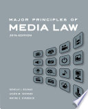 Major Principles of Media Law  2016