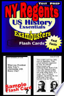 NY Regents United States History Test Prep Review  Exambusters Flashcards