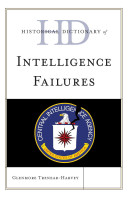 Historical Dictionary of Intelligence Failures Of Intelligence Failures Through A Chronology An