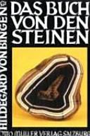 Das Buch von den Steinen