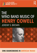 download ebook the wind band music of henry cowell pdf epub