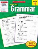 Scholastic Success With Grammar  Grade 1