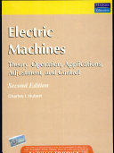 Electric Machines  Theory  Operating Applications  and Controls  2 e