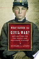 What Caused the Civil War   Reflections on the South and Southern History