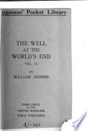 The well at the world s end  Pocket ed