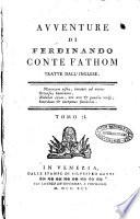 Avventure di Ferdinando conte Fathom tratte dall inglese  Tomo 1    2