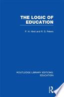 The Logic of Education  RLE Edu K