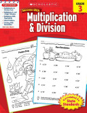 Scholastic Success With Multiplication   Division  Grade 3