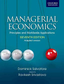 Managerial Economics  Principles and Worldwide Application