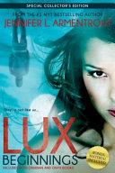 Lux: Beginnings (Obsidian & Onyx) by Jennifer L. Armentrout