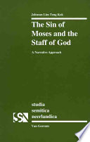 The Sin of Moses and the Staff of God Sin Of Moses Is One Of
