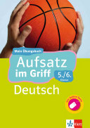 Klett Aufsatz im Griff Deutsch 5  6  Klasse