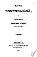 Rome souterraine Charles Didier