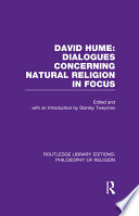 David Hume  Dialogues Concerning Natural Religion In Focus